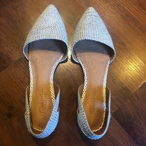 Madewell Pointed Flats. Size 7. Worn a few times.